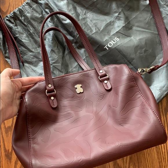 Tous Handbags - Tous burgundy bag